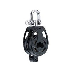 POLEA DOBLE GIRATORIA C/ARRAIGO 57mm HARKEN